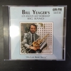 Bill Yeager's Los Angeles Jazz Workshop Big Band - Medium Basie Swing CD (VG/VG+) -jazz-