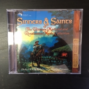 Philip Pickett And The New London Consort - Sinners & Saints (The Ultimate Medieval And Renaissance Music Collection) CD (M-/M-) -klassinen-