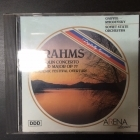 Ivan Cerkov - Brahms: Violin Concerto In D Major / Academic Festival Overture CD (M-/M-) -klassinen-