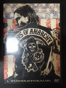 Sons Of Anarchy - Kausi 1 4DVD (VG+/M-) -tv-sarja-