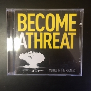 Become A Threat - Method In This Madness CD (VG+/M-) -hardcore-