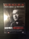 Good Night, And Good Luck DVD (VG+/M-) -draama-