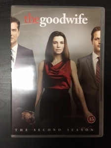 Good Wife - Kausi 2 6DVD (M-/M-) -tv-sarja-