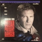 Clear And Present Danger LaserDisc (G-VG/VG) -toiminta-