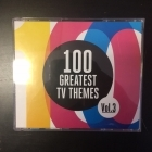 100 Greatest TV Themes Vol.3 4CD (VG+-M-/M-)