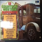 V/A - 12 Country & Western Superhits LP (VG+/VG+)