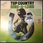 V/A - Top Country Sing-A-Long LP (VG+-M-/VG+)