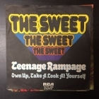 Sweet - Teenage Rampage / Own Up, Take A look At Yourself 7'' (VG+/VG+) -glam rock-