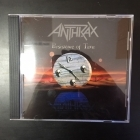 Anthrax - Persistence Of Time CD (M-/M-) -thrash metal-