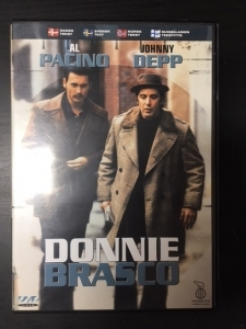 Operaatio Donnie Brasco DVD (VG+/M-) -draama-