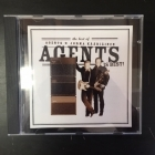 Agents & Jorma Kääriäinen - Agents Is Best! CD (VG+/VG+) -iskelmä/rock n roll-