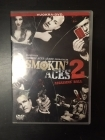 Smokin' Aces 2 - Assassins' Ball DVD (VG/VG) -toiminta- (ex-vuokravideo)