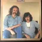 Crosby & Nash - Whistling Down The Wire LP (VG+/VG+) -folk rock-