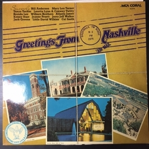 V/A - Greetings From Nashville LP (VG+/VG+)