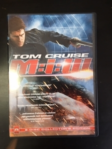 Mission Impossible 3 (collectors edition) 2DVD (VG+/M-) -toiminta-