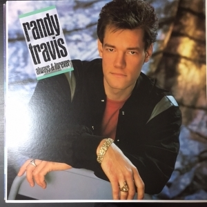 Randy Travis - Always & Forever LP (VG+-M-/M-) -country-