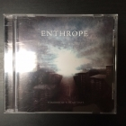 Enthrope - Tomorrow's Dead Days CD (VG/VG+) -death metal-