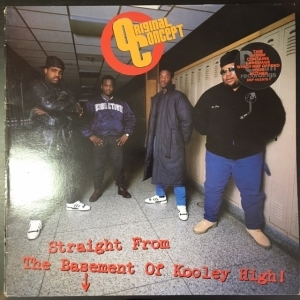 Original Concept - Straight From The Basement Of Kooley High! LP (M-/M-) -hip hop-