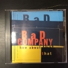 Bad Company - How About That CDS (M-/M-) -hard rock-
