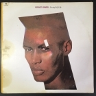 Grace Jones - Living My Life (Viviendo Mi Vida) LP (VG-VG+/VG) -reggae-