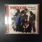 51 Koodia - Rautaiset linnut CD (VG+/M-) -pop rock-