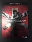 Doomsday (unrated) (steelbook) DVD (VG+/VG+) -toiminta-