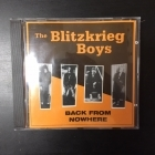 Blitzkrieg Boys - Back From Nowhere CD (M-/M-) -punk rock-