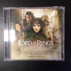 Lord Of The Rings - The Fellowship Of The Ring (Original Motion Picture Soundtrack) CD (VG/VG+) -soundtrack-