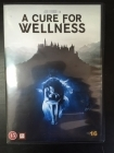 Cure For Wellness DVD (VG+/M-) -kauhu/draama-