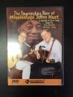John Sebastian And Happy Traum - The Fingerpicking Blues Of Mississippi John Hurt DVD (VG/M-) -opetus dvd- (R1 NTSC/ei suomenkielistä tekstitystä)