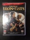 Man With The Iron Fists DVD (M-/M-) -toiminta-