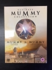 Ultimate Mummy Collection 4DVD (VG+-M-/VG+) -seikkailu-