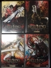 Hellsing - Ultimate Series I-IV 4DVD (VG+-M-/M-) -anime-