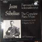 Erik T. Tawaststjerna - Sibelius: The Complete Piano Music (Volume 2) LP (M-/VG) -klassinen-