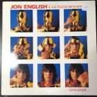 Jon English & The Foster Brothers - Some People... LP (VG-VG+/VG+) -pop rock-