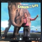 Larger Than Life LaserDisc (VG+/VG+) -komedia-