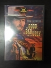 Good, The Bad And The Ugly DVD (VG/M-) -western- (R1 NTSC/ei suomenkielistä tekstitystä)