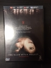 Blair Witch Project DVD (VG+/VG+) -kauhu-