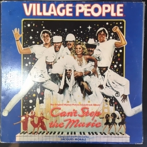 Village People - Cant Stop The Music (The Original Motion Picture Soundtrack) LP (VG-VG+/VG) -soundtrack-