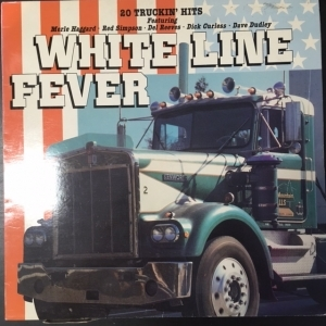 V/A - White Line Fever LP (VG+/VG+)
