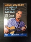 Geoff Muldaur - Innovative Arrangements For American Blues/Roots Guitar DVD (VG+/M-) -opetus dvd- (R1 NTSC/ei suomenkielistä tekstitystä)