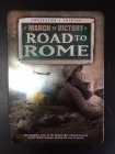 March To Victory - Road To Rome 5DVD (VG+-M-/VG+) -dokumentti-