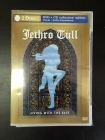 Jethro Tull - Living With The Past DVD+CD (VG+-M-/M-) -prog rock- (R0 NTSC)