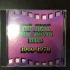Best Top Movie Hits 1960-1978 CD (VG+/VG+) -soundtrack-