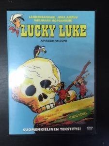 Lucky Luke - Apassikanjoni DVD (VG/M-) -animaatio-