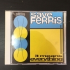 Save Ferris - It Means Everything CD (VG+/M-) -ska punk-