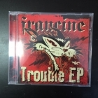 Francine - Trouble EP CDEP (M-/M-) -rockabilly-