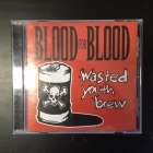 Blood For Blood - Wasted Youth Brew CD (VG/VG+) -hardcore-