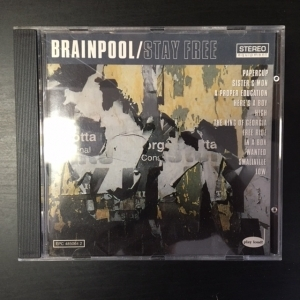 Brainpool - Stay Free CD (VG+/M-) -power pop-