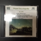 Eric Lebrun - Alain: Organ Works Vol.1 CD (M-/M-) -klassinen-